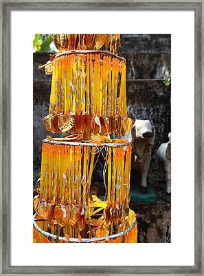 Wat Phra That Lampang Luang - Lampang Thailand - 011316 Framed Print by DC Photographer
