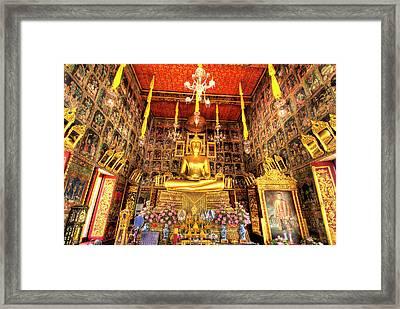 Wat Ratcha Orasaram Ratchaworawiharn Framed Print by Jaynes Gallery