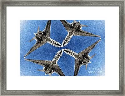 Watch Out Close Call Framed Print by Mariola Bitner