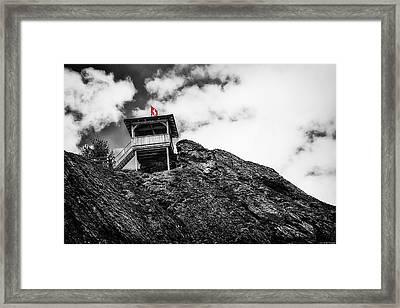 Watch Tower Framed Print by Ryan Wyckoff