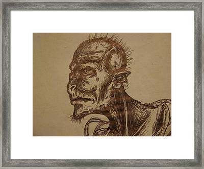 Watcher Of The Earth Framed Print by Joshua Massenburg