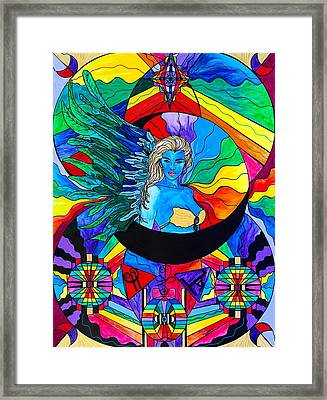 Watcher Framed Print by Teal Eye  Print Store