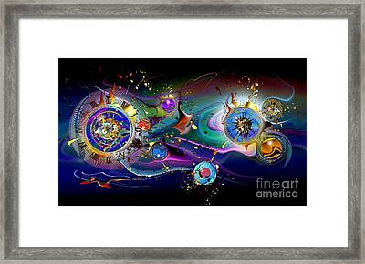 Watches In The Sky Framed Print by Franziskus Pfleghart