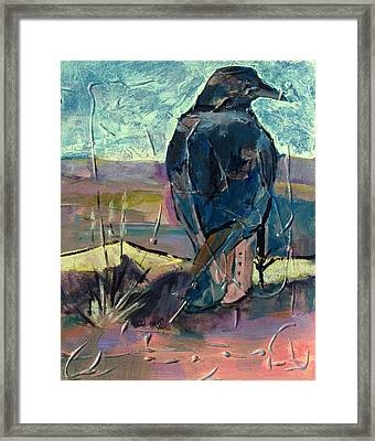 Watchful American Icon Framed Print by Betty Pieper