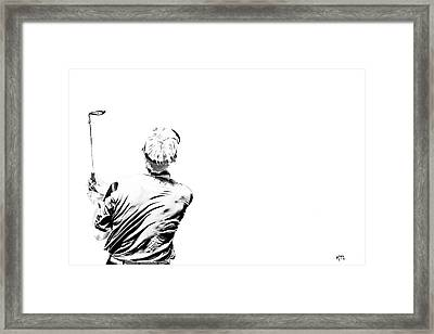 Watching And Hoping Framed Print by Karol Livote