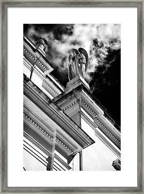 Watching Over Fatima Framed Print by John Rizzuto