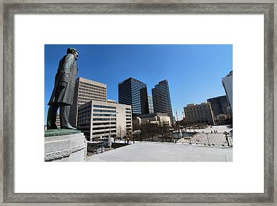 Watching Over Nashville Framed Print by Dan Sproul