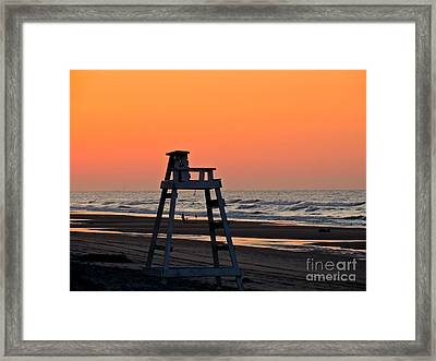 Watching Over You Framed Print by Eve Spring