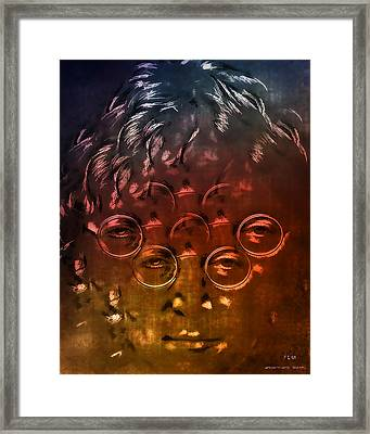 Watching The Wheels Framed Print by Pedro L Gili