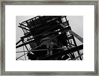 Watchtower Framed Print by Jennifer Ancker
