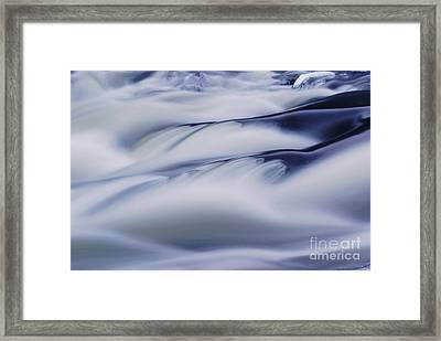 Water Abstract  Framed Print by Aimelle