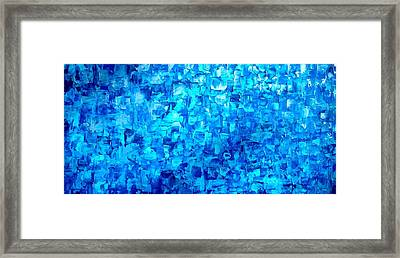 Water And Light Framed Print by Holly Anderson