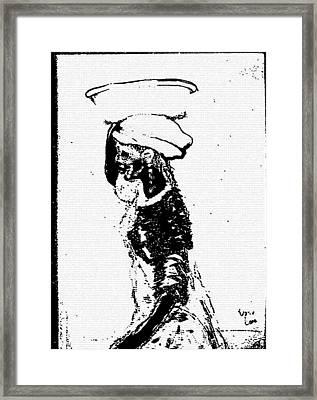 Water Barer Framed Print by George Harrison