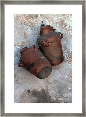 Water Bottles Framed Print by Dan Holm