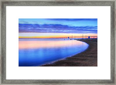 Water Colors Framed Print by JC Findley