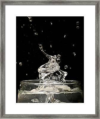 Water Dancers Framed Print by Joseph Tese