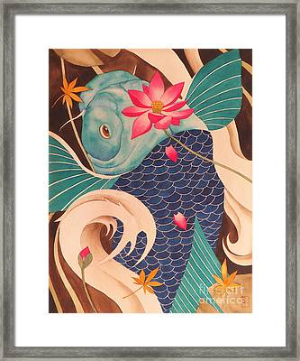 Water Dragon Framed Print by Robert Hooper
