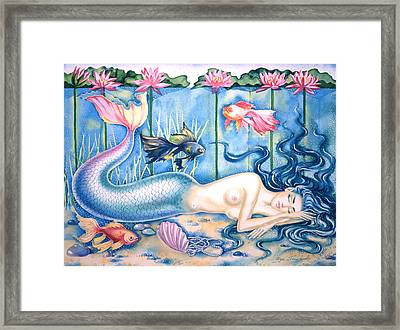Water Dreams Framed Print by Olga Shevchenko