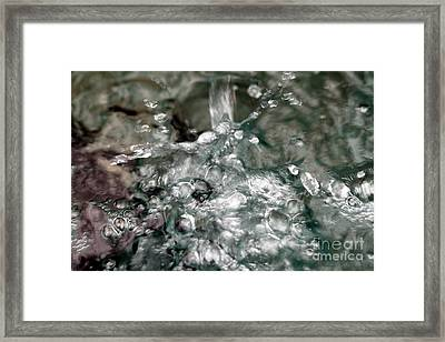 Water Framed Print by Henrik Lehnerer