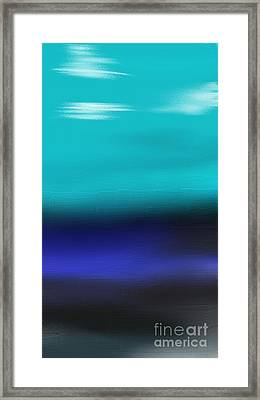 Water Meets Sky Framed Print by Jerod Roberts