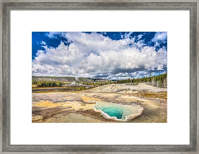 Water Pedal Framed Print by Jeff Donald