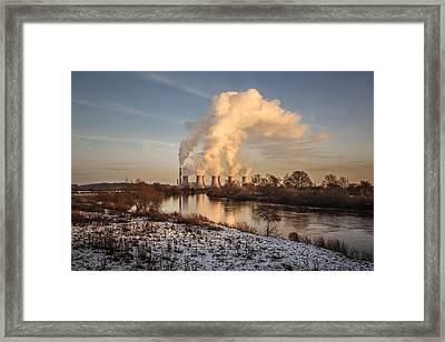 Water Powered Framed Print by Chris Fletcher