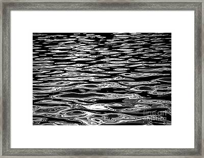 Water Surface Abstract Framed Print by Elena Elisseeva