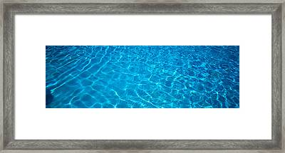 Water Swimming Pool Mexico Framed Print by Panoramic Images