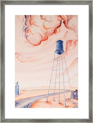 Water Tank II Framed Print by Scott Kirby