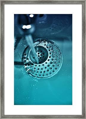 Water Tap Framed Print by Modern Art Prints