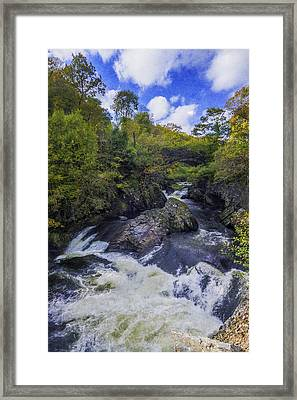 Water Under The Bridge Framed Print by Ian Mitchell