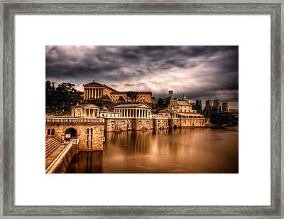 Water Works Framed Print by Rob Dietrich
