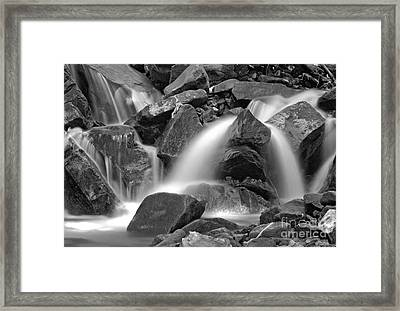 Waterfall Framed Print by James Taylor