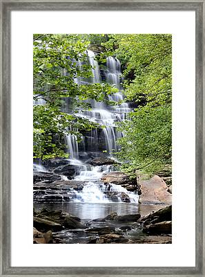 Waterfall Framed Print by Southern Arts