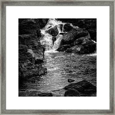 Waterfalls Number 8 Framed Print by Bob Orsillo