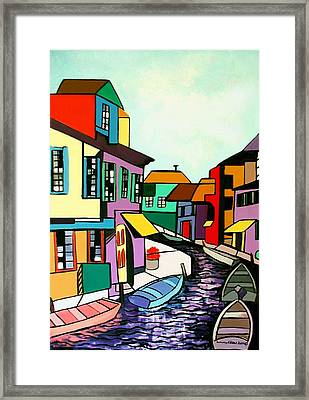 Waterfront Framed Print by Anthony Falbo