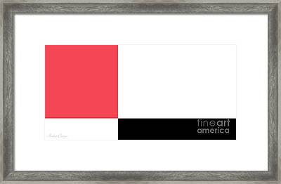 Watermelon And Seeds Framed Print by Andee Design