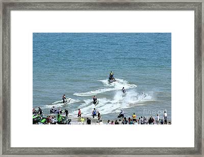 Watersport... Framed Print by Katy Mei