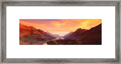 Waterton Lakes National Park, Alberta Framed Print by Panoramic Images