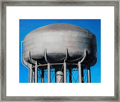 Watertower Framed Print by Baron Dixon