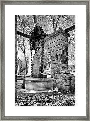 Waterwheel  Framed Print by Jose Elias - Sofia Pereira