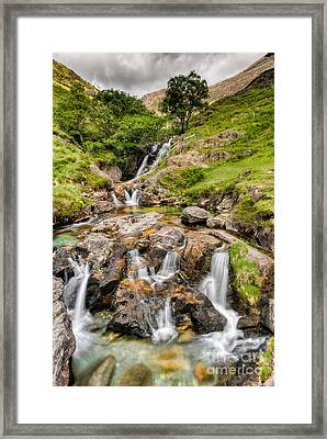 Watkin Falls Framed Print by Adrian Evans