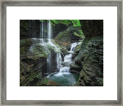 Watkins Glen Framed Print by Bill Wakeley