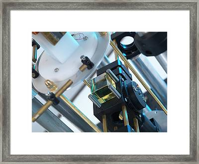 Watt Balance Framed Print by Andrew Brookes, National Physical Laboratory