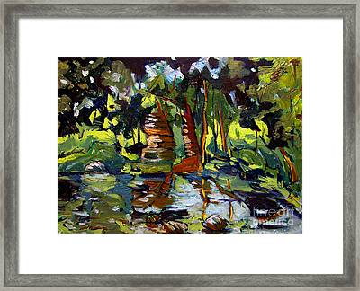 Watteson's Eel River Framed Print by Charlie Spear