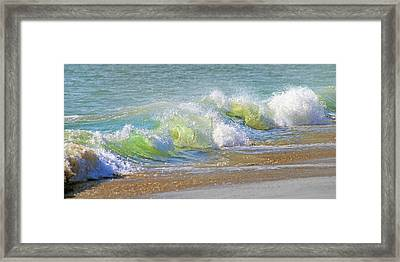 Wave  Framed Print by Betsy C Knapp