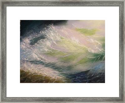 Wave Framed Print by Elena Sokolova