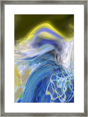 Wave Theory Framed Print by Richard Thomas