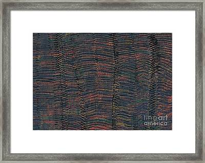 Waves Framed Print by Andy  Mercer