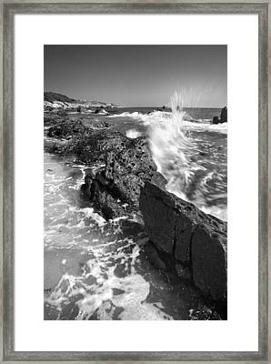 Waves Framed Print by Guido Montanes Castillo
